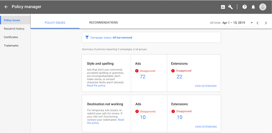 google-policy-manager